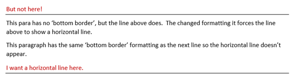 making lines in word and stopping them 7960 - Making lines in Word and stopping them!