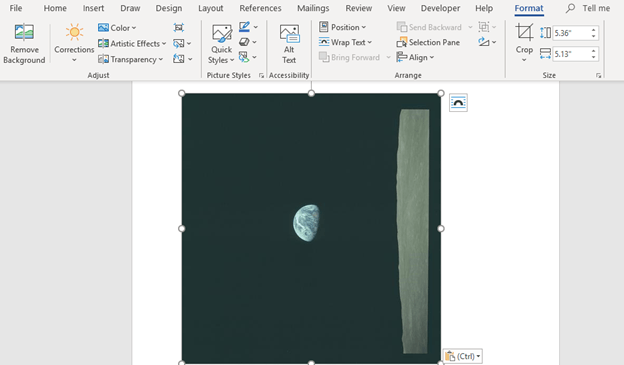 microsoft office photo editing with apollo 8s earthrise 25255 - Microsoft Office photo editing with Apollo 8's Earthrise