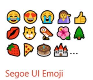 microsoft update mystery segoe ui emoji font 19579 - Microsoft update mystery: Segoe UI emoji font