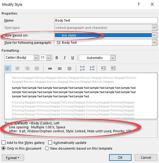 modifying body text style in microsoft word microsoft office 25100 - modifying-body-text-style-in-microsoft-word-microsoft-office-25100