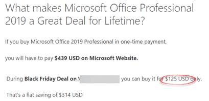 more office 2019 buying scams on amazon and ebay buying office 24779 - More Office 2019 buying scams on Amazon and Ebay