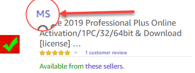 more office 2019 buying scams on amazon and ebay buying office 24781 - More Office 2019 buying scams on Amazon and Ebay