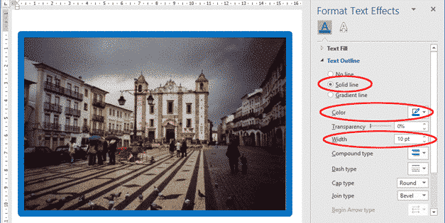 multi line picture borders in word or powerpoint 34769 - Multi-Line Picture Borders in Word or PowerPoint
