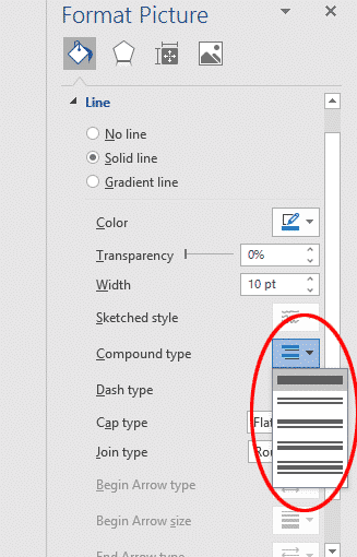 multi line picture borders in word or powerpoint 34770 - Multi-Line Picture Borders in Word or PowerPoint