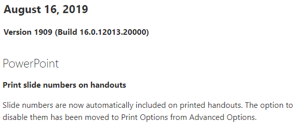 new powerpoint handout feature isnt new at all microsoft office 30406 - New PowerPoint handout feature isn't new at all