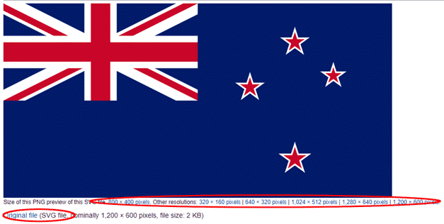 new zealand flag into word excel or powerpoint microsoft office 34613 - New Zealand Flag into Word, Excel or PowerPoint