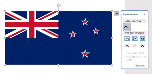 new zealand flag into word excel or powerpoint microsoft office 34622 - New Zealand Flag into Word, Excel or PowerPoint