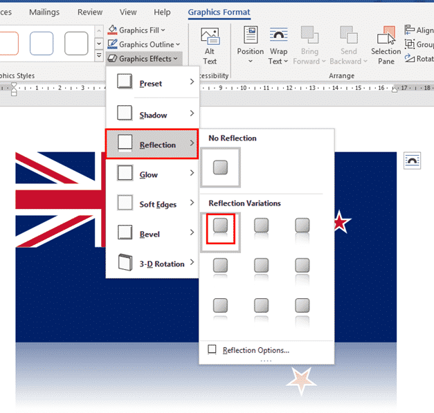 new zealand flag into word excel or powerpoint microsoft office 34624 - New Zealand Flag into Word, Excel or PowerPoint