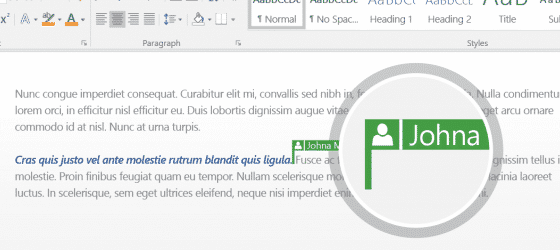 office 2016 gets real time document co authoring again 5327 - Office 2016 gets 'real time' document co-authoring ... again