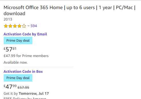 office 365 discount for amazon prime members buying office 29368 - Office 365 discount for Amazon Prime members