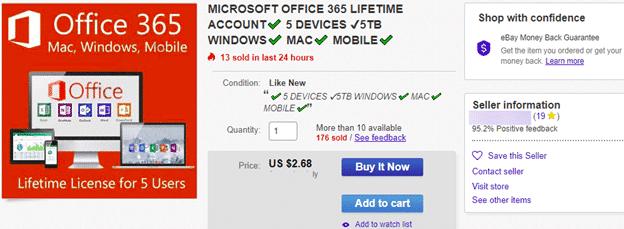 office 365 lifetime plans are a lie microsoft office 25694 - Office 365 'Lifetime' plans are a lie