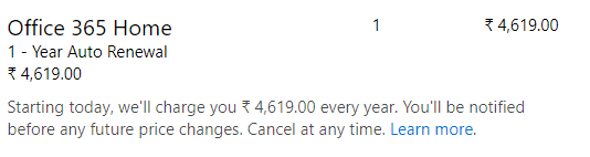 office 365 prices go up 18 in india 14613 - Office 365 prices go up 18% in India