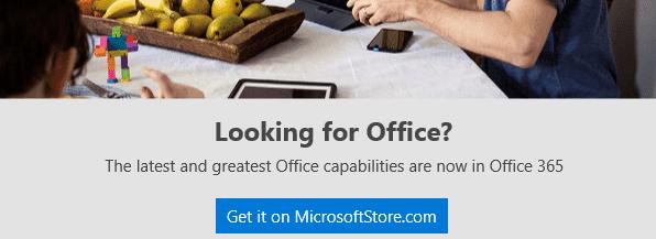 office desktop now available via microsoft store for windows 10 16668 - Office desktop now available via Microsoft Store for Windows 10
