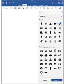 office for iphone ipad gets icons or svg graphics microsoft word 24116 - Office for iPhone/iPad gets Icons or SVG graphics