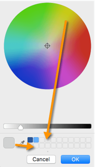 office for mac color selection 15154 - Office for Mac color selection complete