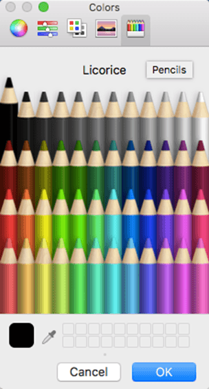 office for mac color selection 15165 - Office for Mac color selection complete