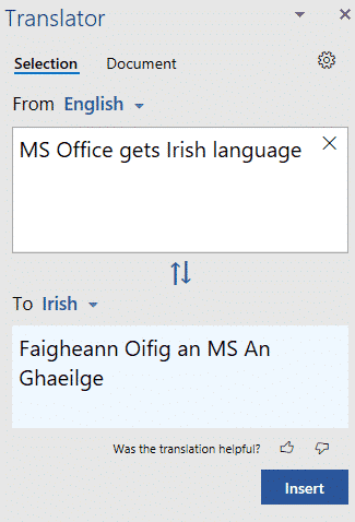 office gets irish language or faigheann ms office an ghaeilge microsoft office 34495 - Office gets Irish language or Faigheann MS Office an Ghaeilge