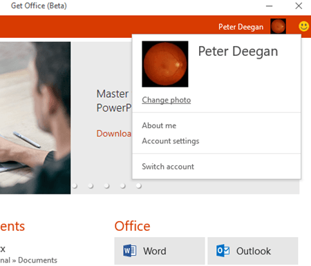 office hub app on windows 10 11639 - Office Hub app on Windows 10