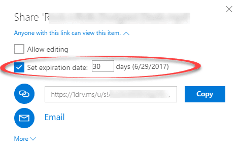 onedrive gets expiring links for office 365 users 13883 - OneDrive gets expiring links for Office 365 users