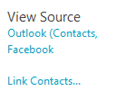outlook 2013 why link contacts microsoft outlook 4129 - Outlook 2013 - why Link Contacts?
