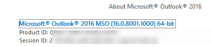 outlook 2016 theres three 12709 - Outlook 2016 - there's (at least) three!