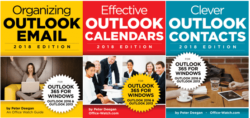Outlook 365/2019 - three ebooks - special offer