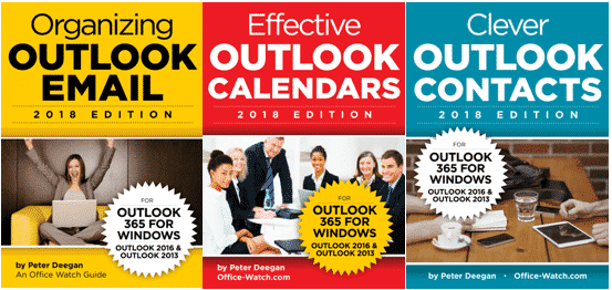outlook 365 2019 three ebooks special offer 31296 - Office Watch Microsoft Outlook Word Excel Powerpoint Access Teams Onenote