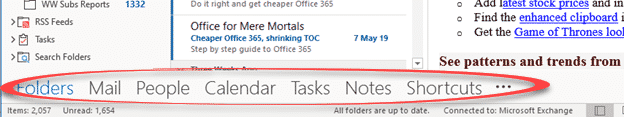 outlook folders changing names to icons microsoft outlook 27974 - Outlook folders; changing names to icons