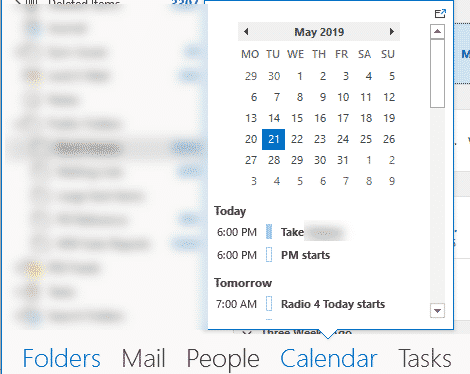 outlook folders changing names to icons microsoft outlook 27978 - Outlook folders; changing names to icons