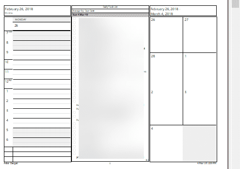 outlook print calendar options a daily weekly monthly plan on paper microsoft outlook 17639 - Outlook Print Calendar Options -a Daily/Weekly/Monthly plan on paper