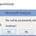 Outlook's 'Permanent' delete but doesn't  – how we tested it.