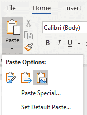 paste in microsoft word 36567 - Paste tricks and tips for Microsoft Word