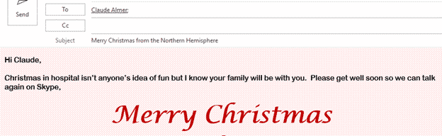 personal christmas emails its not too late microsoft outlook 33509 - Personal Christmas emails, it's not too late