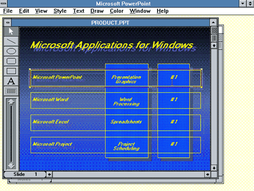 powerpoint 2 0 for windows - PowerPoint is 30 years old, can you believe it?