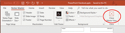 powerpoint notes master for more handout control with slides microsoft office 30748 - PowerPoint Notes Master for more handout control with slides