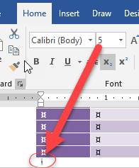preventing table overruns in microsoft word 18445 - Preventing Table overrun to blank page in Microsoft Word