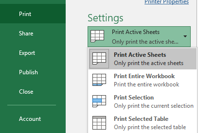 print selection and other choices in excel microsoft excel 24729 - Print selection and other choices in Excel