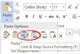 putting excel into word 8320 - Putting Excel into Word