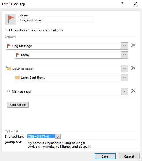 quick steps in outlook 10248 - Quick Steps in Outlook
