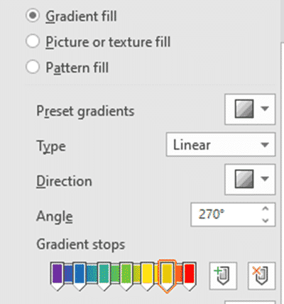 rainbow gradient or effect in office word or powerpoint microsoft 365 37047 - Rainbow gradient or effect in Office, Word or PowerPoint
