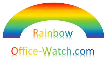 rainbow shape and rainbow effects in office microsoft 365 37033 - Rainbow shape and Rainbow text in Office
