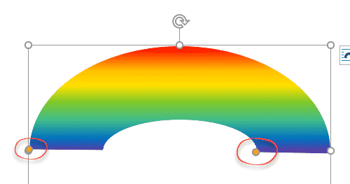 rainbow shape and rainbow effects in office microsoft 365 37040 - Rainbow shape and Rainbow text in Office