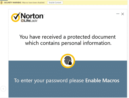 rat in word document pretending to be norton security email microsoft office 35357 - RAT in Word document pretending to be Norton security email