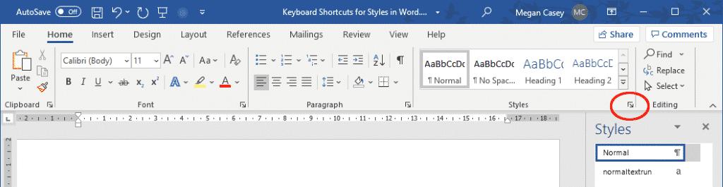 rearrange styles in words quick styles gallery 35917 - Rearrange Styles in Word's Quick Styles Gallery
