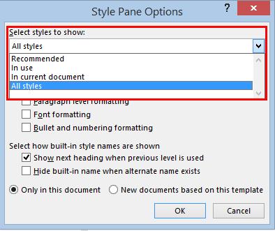 rearrange styles in words quick styles gallery 35919 - Rearrange Styles in Word's Quick Styles Gallery