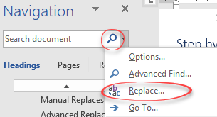 replace text with filler complete step by step microsoft word 17527 - Replace Text with Filler - complete Step by Step