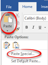 reusable text in word documents 11522 - Reusable text in Word documents