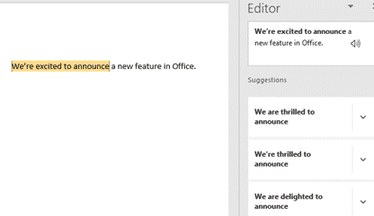 rewrite a new language helper for microsoft word office 365 31880 - Rewrite, a new language helper for Microsoft Word