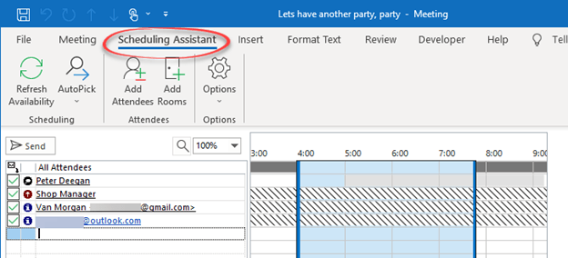 send party invitations from outlook microsoft outlook 24955 - Send party invitations from Outlook