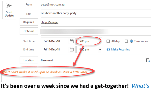 send party invitations from outlook microsoft outlook 24957 - Send party invitations from Outlook